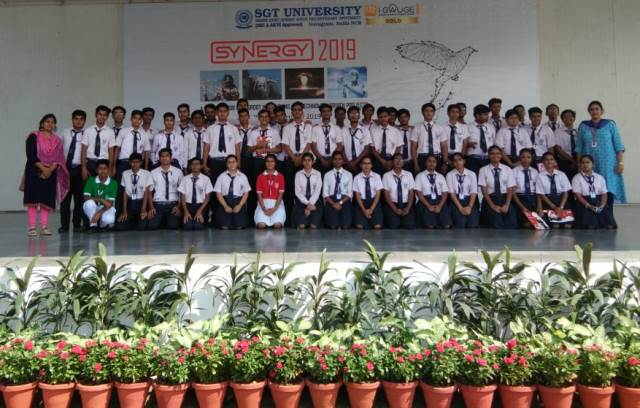 Visit to SGT University- Synergy 2019
